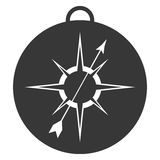 simple compass icon Stock Images