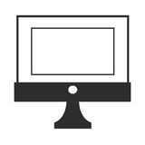 simple computer icon Royalty Free Stock Images