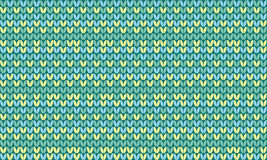 Simple concept knitted seamless pattern Royalty Free Stock Image