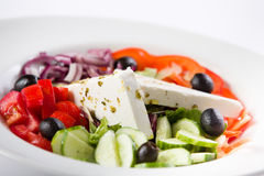 Simple but consistent salad Stock Images