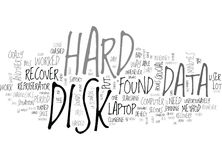 A Simple And Crazy Way To Recover Your Data Word Cloud Royalty Free Stock Photos