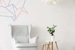 Simple and creative way to decorate your home Royalty Free Stock Photography