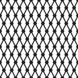 Simple cross dots line vector seamless pattern Royalty Free Stock Photo