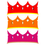 Simple crown Royalty Free Stock Photography