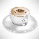 Simple cup of coffee Royalty Free Stock Image