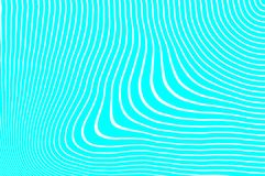 Changing lines. Unstable undulation. Simple curved background. Crazy lines Royalty Free Stock Image