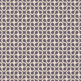 Simple curved geometric seamless pattern. Vector background.Vector EPS10 monochrome lines Royalty Free Stock Photo