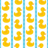 Simple cute ducks. Royalty Free Stock Photography