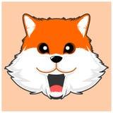 Simple cute fox vector image