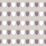 Simple pastel floral pattern for cute childish textile or scrapbooking background. Simple cute pale pastel floral pattern background for childish and female Stock Images