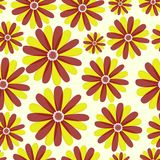 Simple cute pattern in abstract flowers. Ditsy print. Floral seamless background. Fashion prints Stock Photo