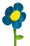 Simple daisy with clipping pat Stock Photo