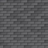 Simple Dark Brick Wall Seamless Pattern. EPS10 Vector Stock Photo