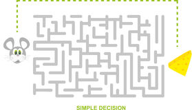 Simple Decision Stock Photos