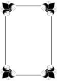 Simple decorative frame Stock Images