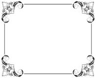 Simple decorative frame Stock Photo