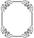 Simple decorative frame Royalty Free Stock Photography