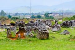 Simple des pots, Xieng Khuoang, Laos Image libre de droits