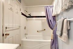 Simple design idea for bathroom Stock Photo