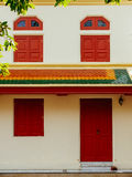 Simple design of Wat Ratchabopit Royalty Free Stock Photos
