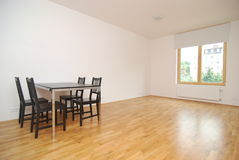 Simple dinning room Royalty Free Stock Photo