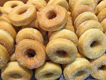 Simple donuts with sugar Royalty Free Stock Photo