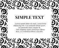 Simple doodle art pattern with typography. Repetition design template. Wrap paper decoration. fabrics art.  vector illustration
