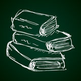 Simple doodle of a book Royalty Free Stock Photography
