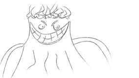 Monster illustration Royalty Free Stock Photos