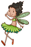 A simple drawing of a fairy Stock Photography