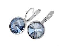Simple earrings Stock Photos