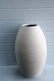 Simple earthen vase Stock Photo