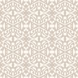 Simple Elegant Lace Pattern In Art Deco Style. Stock Images