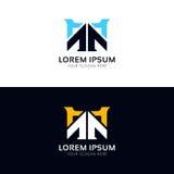 Simple elegant logo sign company icon vector design. Elegant logo sign company icon vector design Royalty Free Stock Photography