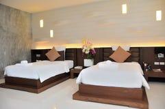 Simple and elegent luxury room Stock Photos
