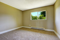Simple empty room. Royalty Free Stock Photography