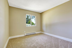 Simple empty room. Stock Photos