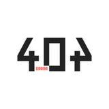 Simple 404 error sign Royalty Free Stock Photos