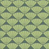 Simple fan pattern. Based on Traditional Japanese Embroidery. Stock Photography