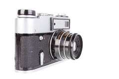 Simple film camera Stock Photo