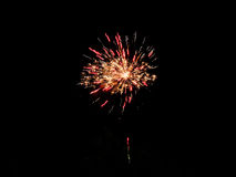 Simple firework. Royalty Free Stock Photo