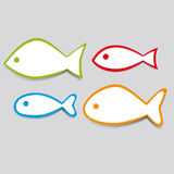 Simple  fish Royalty Free Stock Photo