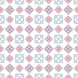 Simple flat flower pattern vector illustration