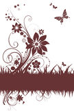Simple floral background Royalty Free Stock Photos