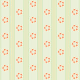 Simple floral background 5 Royalty Free Stock Images
