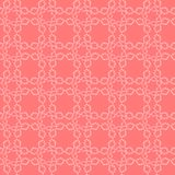 Simple floral lace seamless vector pattern, background royalty free illustration