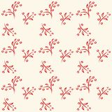 Simple floral pattern Royalty Free Stock Photo