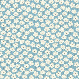 Simple floral pattern Royalty Free Stock Images