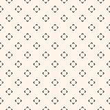 Simple floral pattern. Seamless texture with flower Royalty Free Stock Image
