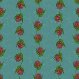 Simple floral pattern Royalty Free Stock Image